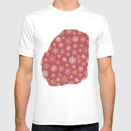 christmas snow T-shirt