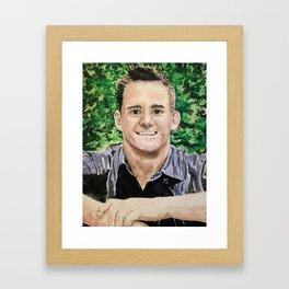 Gabe the Good Warrior Framed Art Print