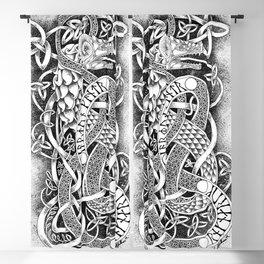 Jormungandr - The Midgard Serpent Blackout Curtain