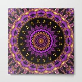 Mandala mystic Star Metal Print