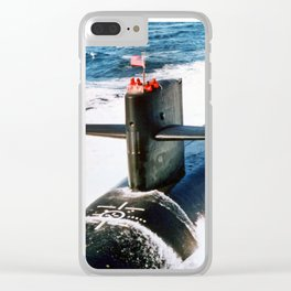 USS ALABAMA (SSBN-731) Clear iPhone Case
