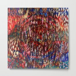Spatial Analysis - A time to reflect. Metal Print