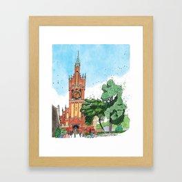 Church of the Sacred Family, Kaliningrad Framed Art Print