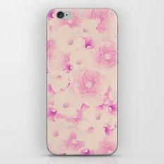 Blush Bouquet iPhone Skin