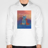 whatever Hoodies featuring Whatever by BlacksSideshow