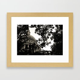 St Paul's Cathedral B&W Alt Framed Art Print