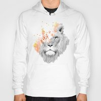 king Hoodies featuring If I roar (The King Lion) by Picomodi