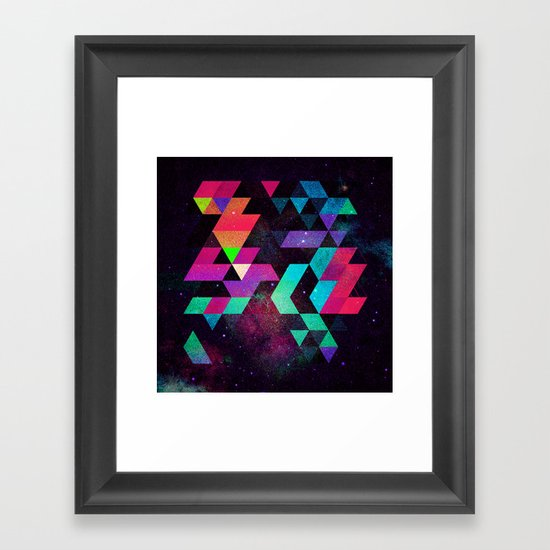 Hyzzy Framed Art Print