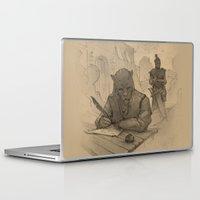 skyrim Laptop & iPad Skins featuring Ridark by Hieronymus7Z