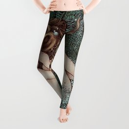 The Birth of Venus Leggings