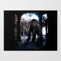 persian Canvas Prints featuring Persian Fantasy by Artworks by Pablo Zarate Inc.
