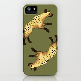 Hyenas iPhone Case