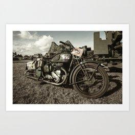 BSA M20 Art Print