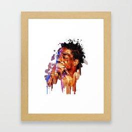 KODAK BLACK--Artwork Framed Art Print