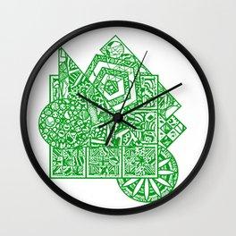 little green men Wall Clock