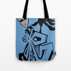 BLANKM GEAR - BLUEMAN T SHIRT Tote Bag