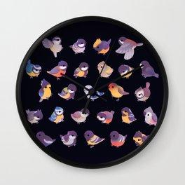 Tit - dark Wall Clock