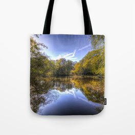 The Silent Pond Tote Bag
