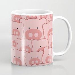 Pink Piggy Pigs Coffee Mug