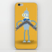 bender iPhone & iPod Skins featuring Pixel Bender by Paul Scott (Dracula is Still a Threat)