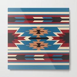 American Native Pattern No. 76 Metal Print