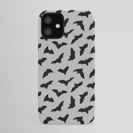Bats on Grey // Halloween Collection iPhone Case