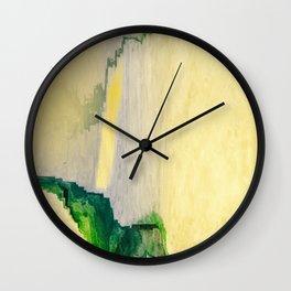 Verdant Letter Wall Clock