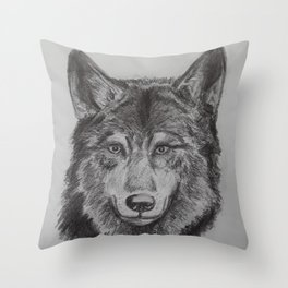 She-Wolf Throw Pillow