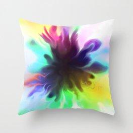 splatty Throw Pillow