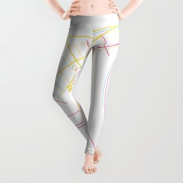 Gliding To The Sky Leggings