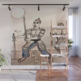 Duel with the Devil Wall Mural