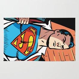 Classic Superman Rug