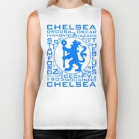 chelsea Biker Tanks featuring Chelsea Mix by Sport_Designs