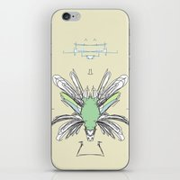 insect iPhone & iPod Skins featuring INSECT PROJECT by  ECOLARTE