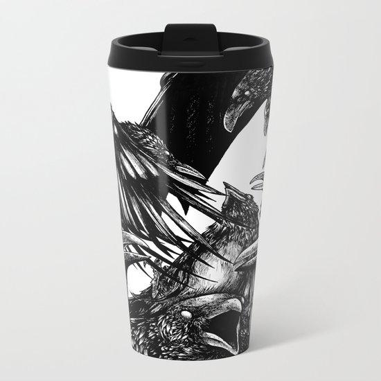 The Riot : Crows Metal Travel Mug