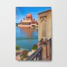 Putra Mosque Malaysia Metal Print
