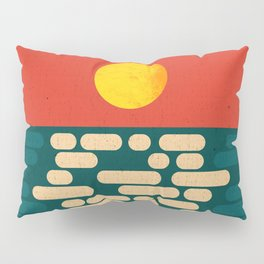 Sun Over The Sea - Afternoon Pillow Sham