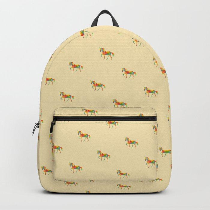 Fractal Geometric Unicorn Backpack