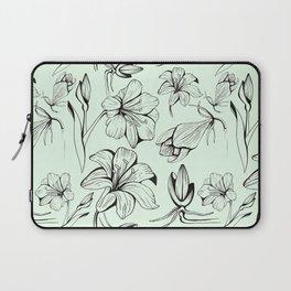Botanical Amaryllis Laptop Sleeve