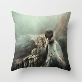 Sandhill Crane 1 Throw Pillow