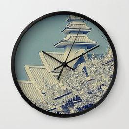 Wat Rong Khun Wall Clock