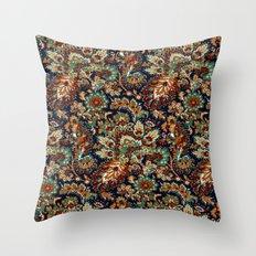Fire Pattern Throw Pillow