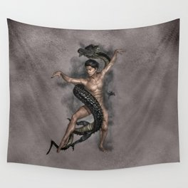 Dragon Dance Wall Tapestry
