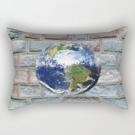 This ain't no Party - Save the Earth Rectangular Pillow