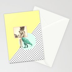 Who would like to date a t-rex Stationery Cards