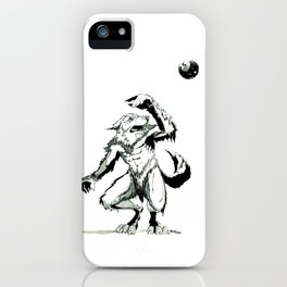 Full Moon Fear iPhone Case