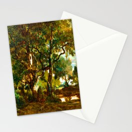 Theodore Rousseau Forest of Fontainebleau Stationery Cards