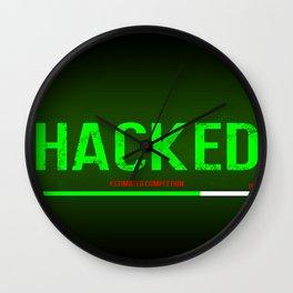 Hacked Wall Clock