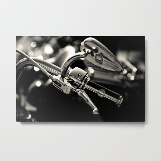 Let's just go walking in the rain Metal Print