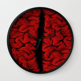 The Vintage Brain Wall Clock